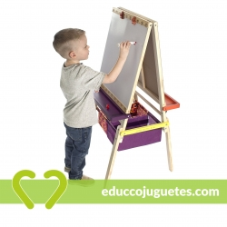 Pizarra Caballete Doble Easel Does It B. Toys