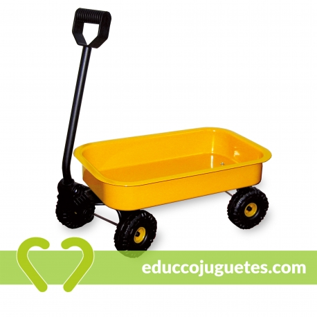 Carro de Chapa Amarillo Small Foot